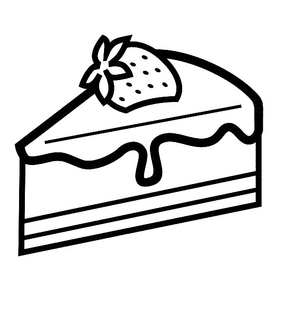 Chocolate Cake Drawing at GetDrawings | Free download