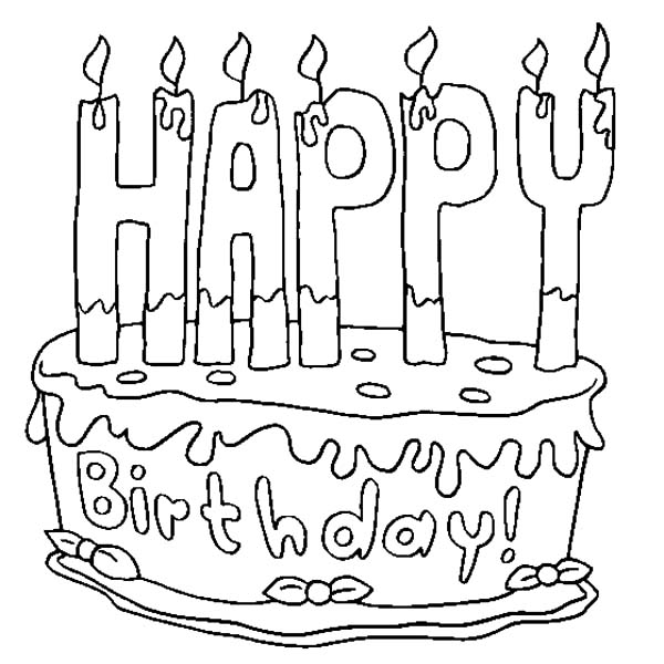 600x600 Birthday Candle Netart
