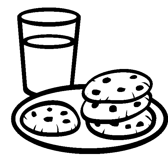 554x552 Chocolate Chip Cookies And Fresh Drinks Coloring Pages For Work