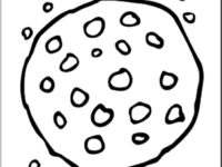 200x150 Cookie Coloring Pages Lovely Chocolate Chip Cookie Coloring Page