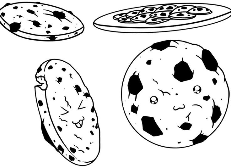 Chocolate Chip Cookies Drawing