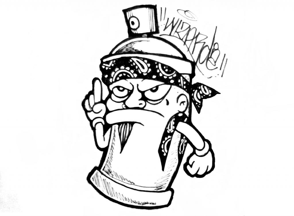 1024x755 Best Gangster Drawings