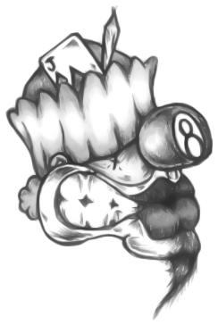 244x364 Cholo Joker Drawings