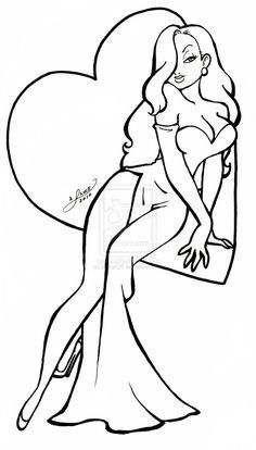 236x414 Pin By Anna Banana On Drawing Jessica Rabbit, Rabbit