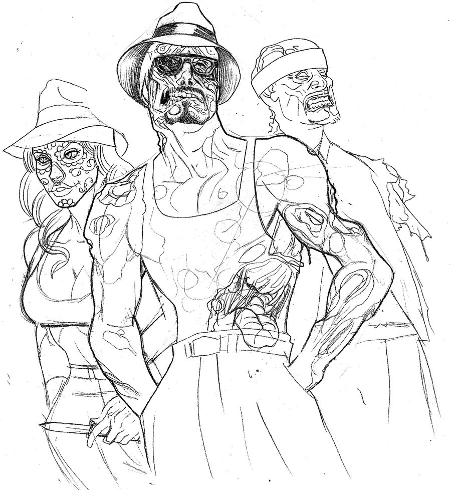 900x978 Zombie Cholos By Johndevilman