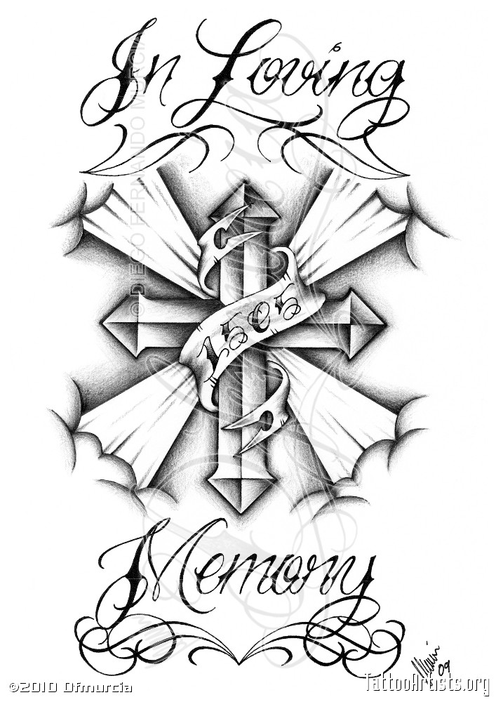 707x1000 Chicano Art Drawings Roses In Loving Memorycustom Tattoo Request