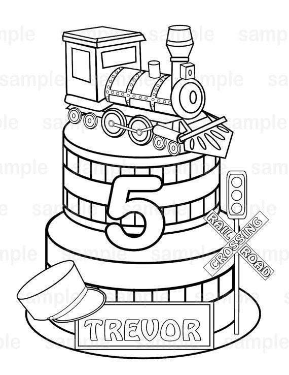 Choo Choo Train Drawing