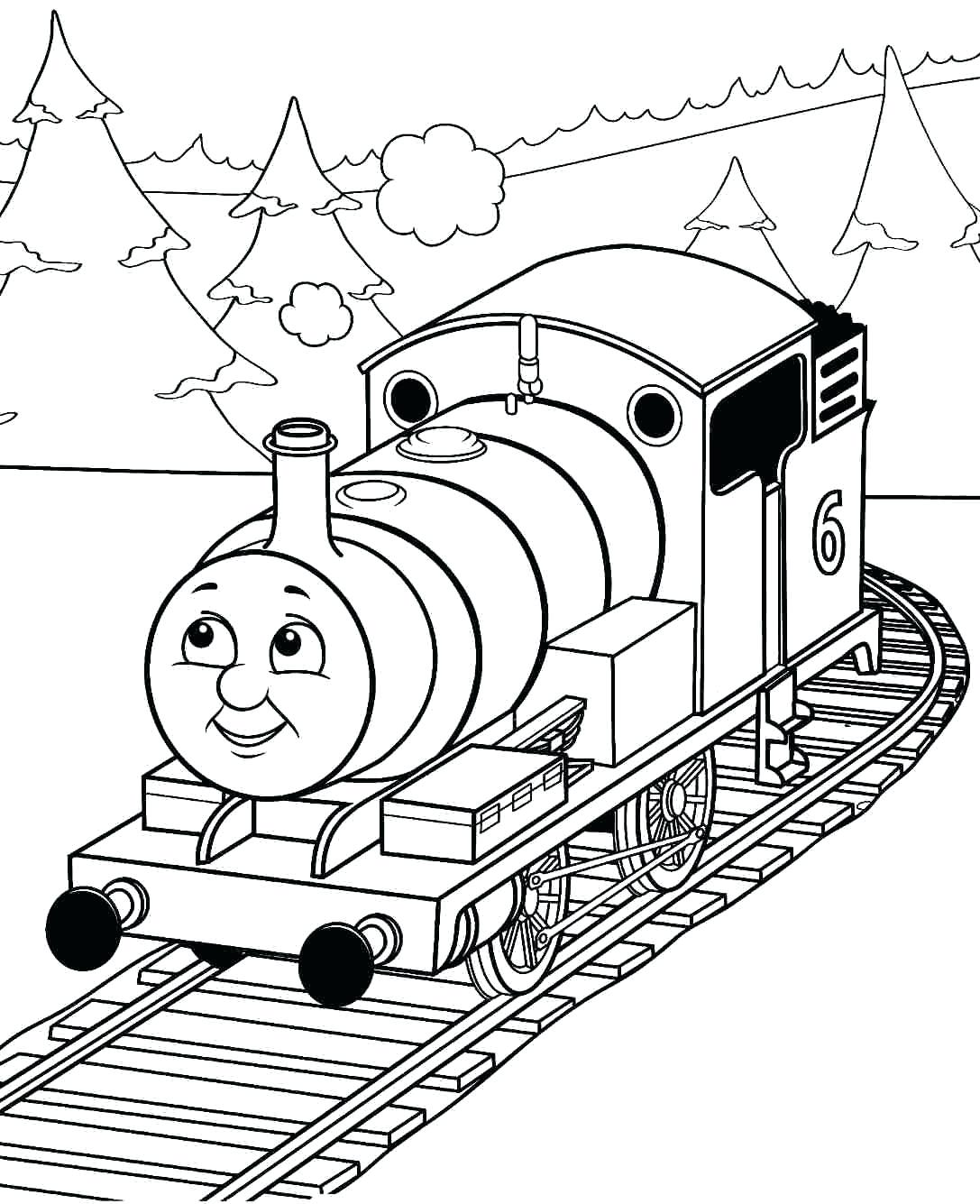 1087x1335 Coloring Choo Choo Train Coloring Pages