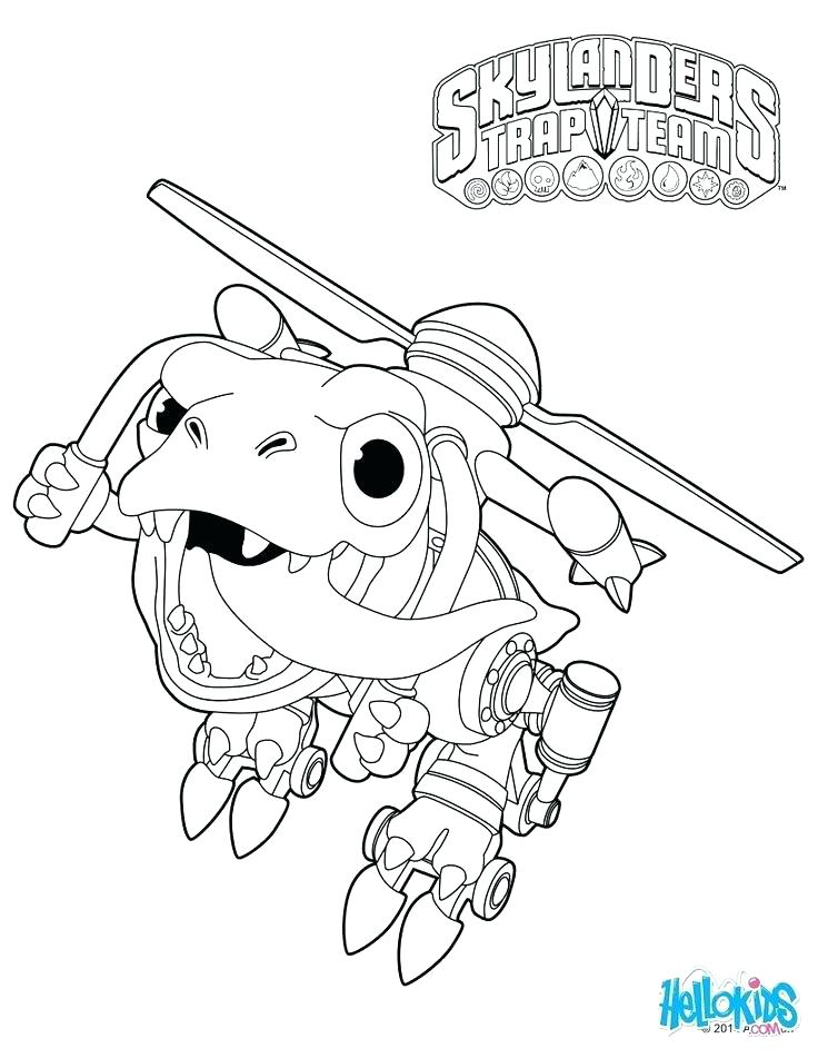 736x951 Skylanders Coloring Pages Printable Coloring Pages Trap Team