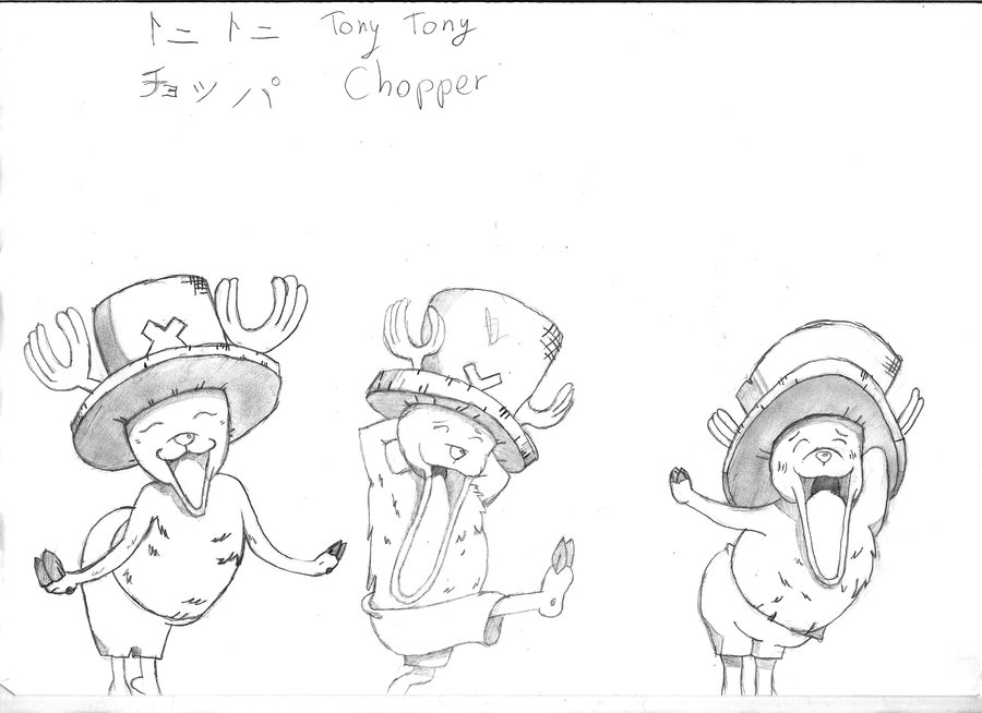 900x654 Tony Tony Chopper