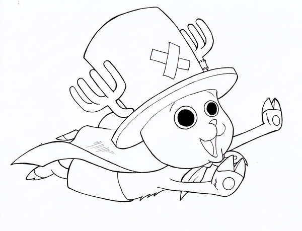 600x459 Tony Tony Chopper By Kukurobuki