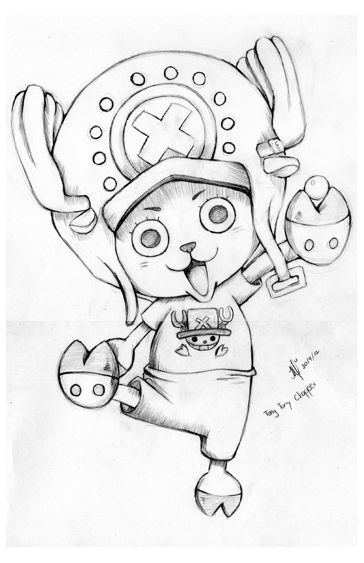 719x1111 Tony Tony Chopper By Lesliesalas
