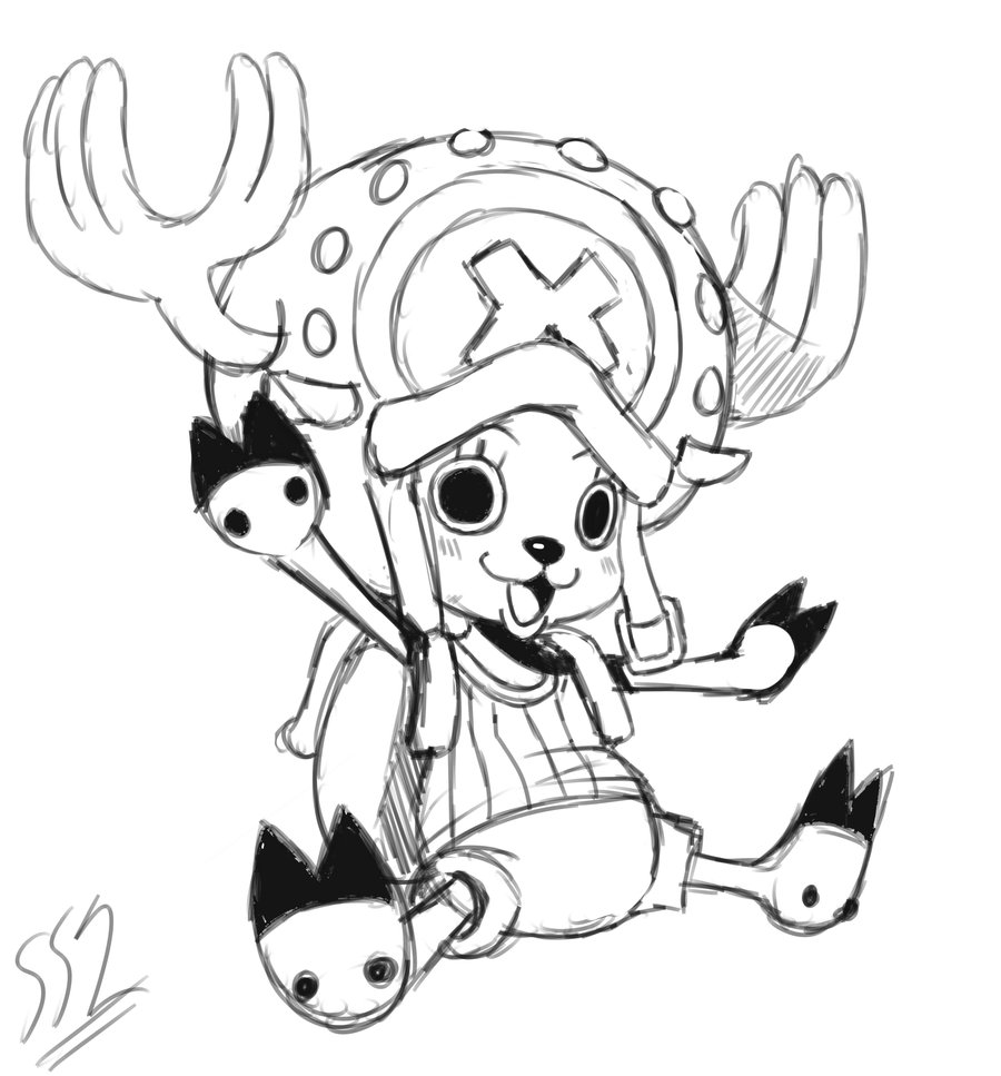 900x967 Tony Tony Chopper By Ss2sonic