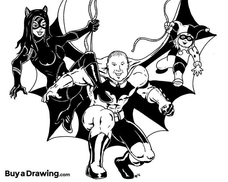 Chris Brown Cartoon Drawing