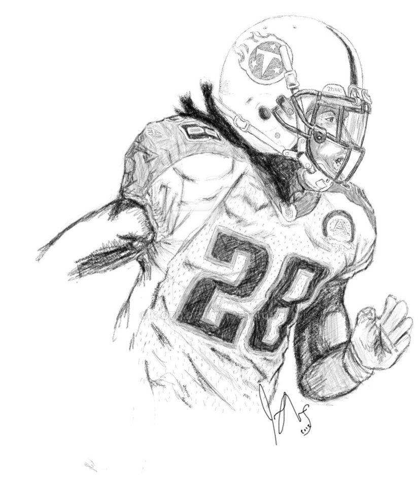 824x970 Tennessee Titans Rb Chris Johnson