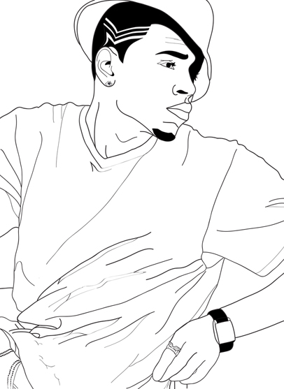 406x557 Chris Brown By Solid03