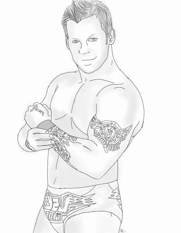 622x800 Chris Jericho Sketch By Halomindy