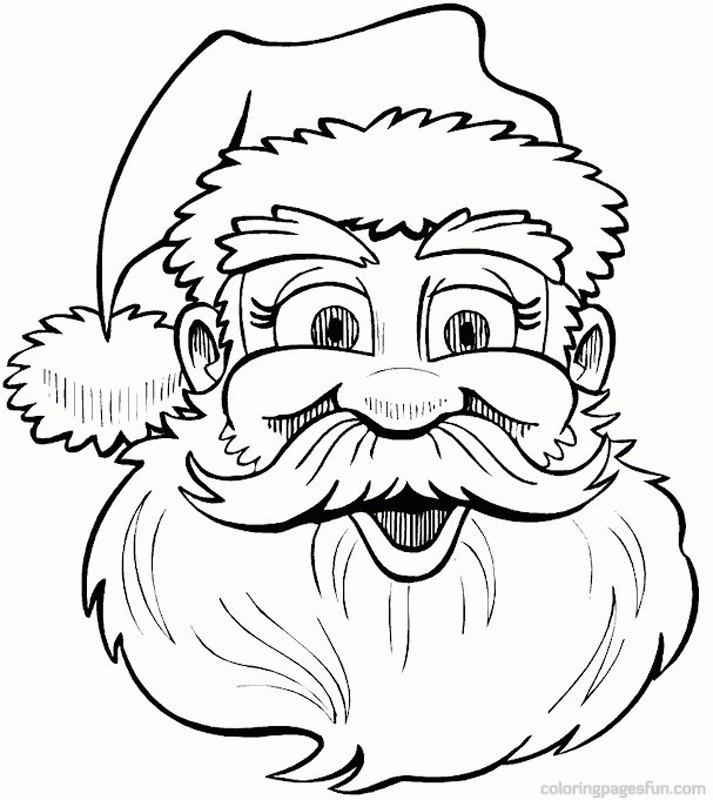 713x800 Christmas Santa Drawings