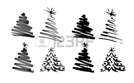 Chrismas Tree Drawing
