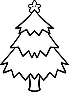 226x302 How To Draw A Christmas Tree For Kids Step 6 Ella Mac