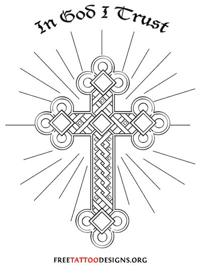 Christian Cross Drawing At Getdrawings Free For Personal Use