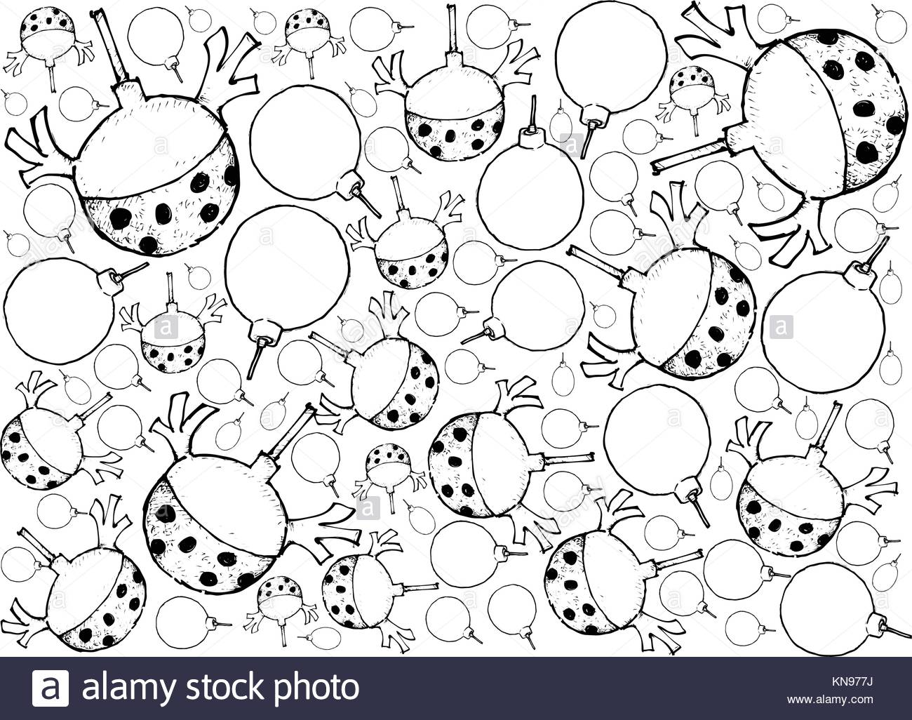 1300x1026 Background Illustration Hand Drawn Sketch Of Lovely Christmas