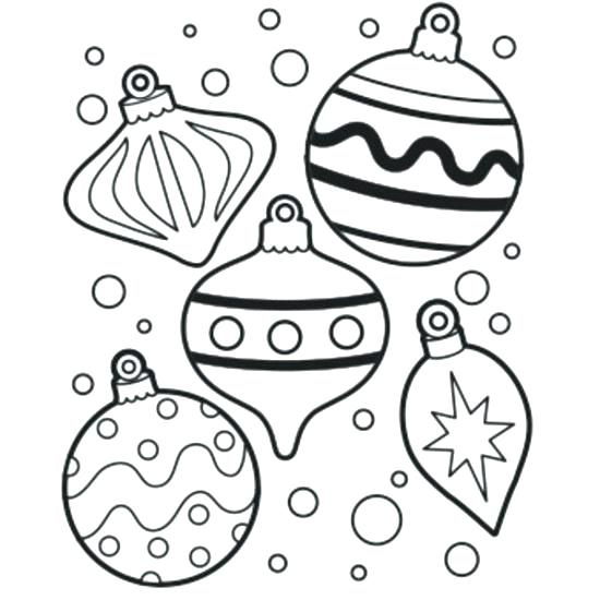 550x550 Coloring Pages Christmas Decorations 1table.co
