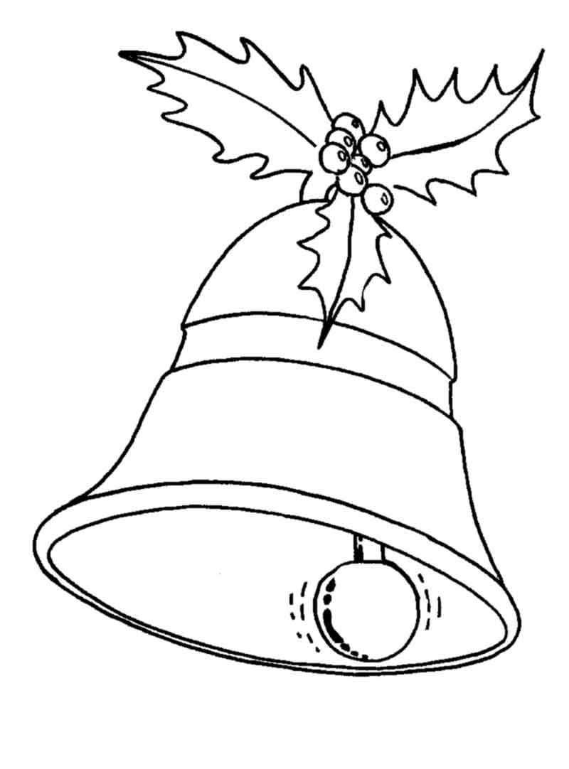 800x1082 Christmas Bell Christmas Ornament Drawing Merry Christmas