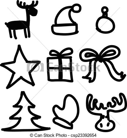 433x470 Christmas Simple Drawings How To Draw Christmas Bells And Bow Step