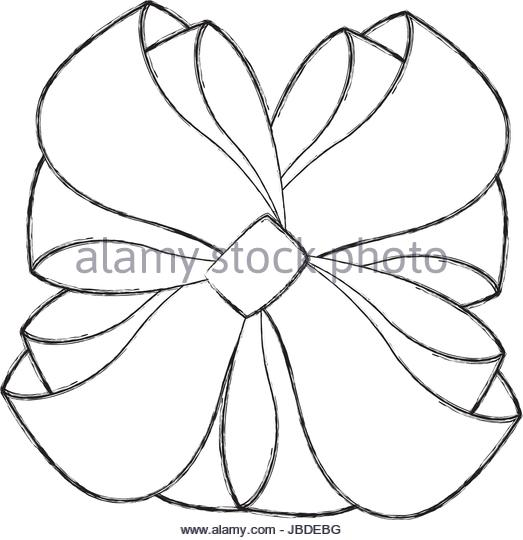 523x540 Gift Bow Sketch Stock Photos Amp Gift Bow Sketch Stock Images