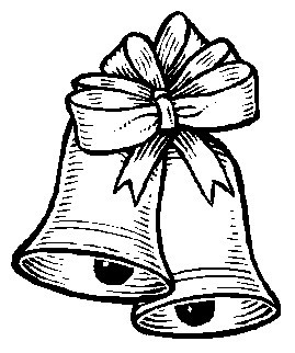 269x322 Bow Coloring Pages For Christmas