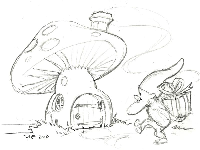 800x602 Zillustration Studio News Gnome For Holidays Sketch