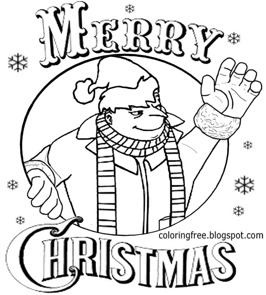 Christmas Cartoon Drawing at GetDrawings.com | Free for personal use ...