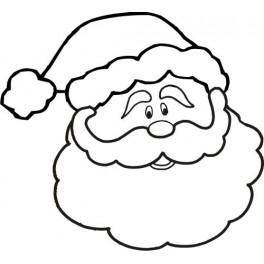 264x264 Christmas Coloring Pages