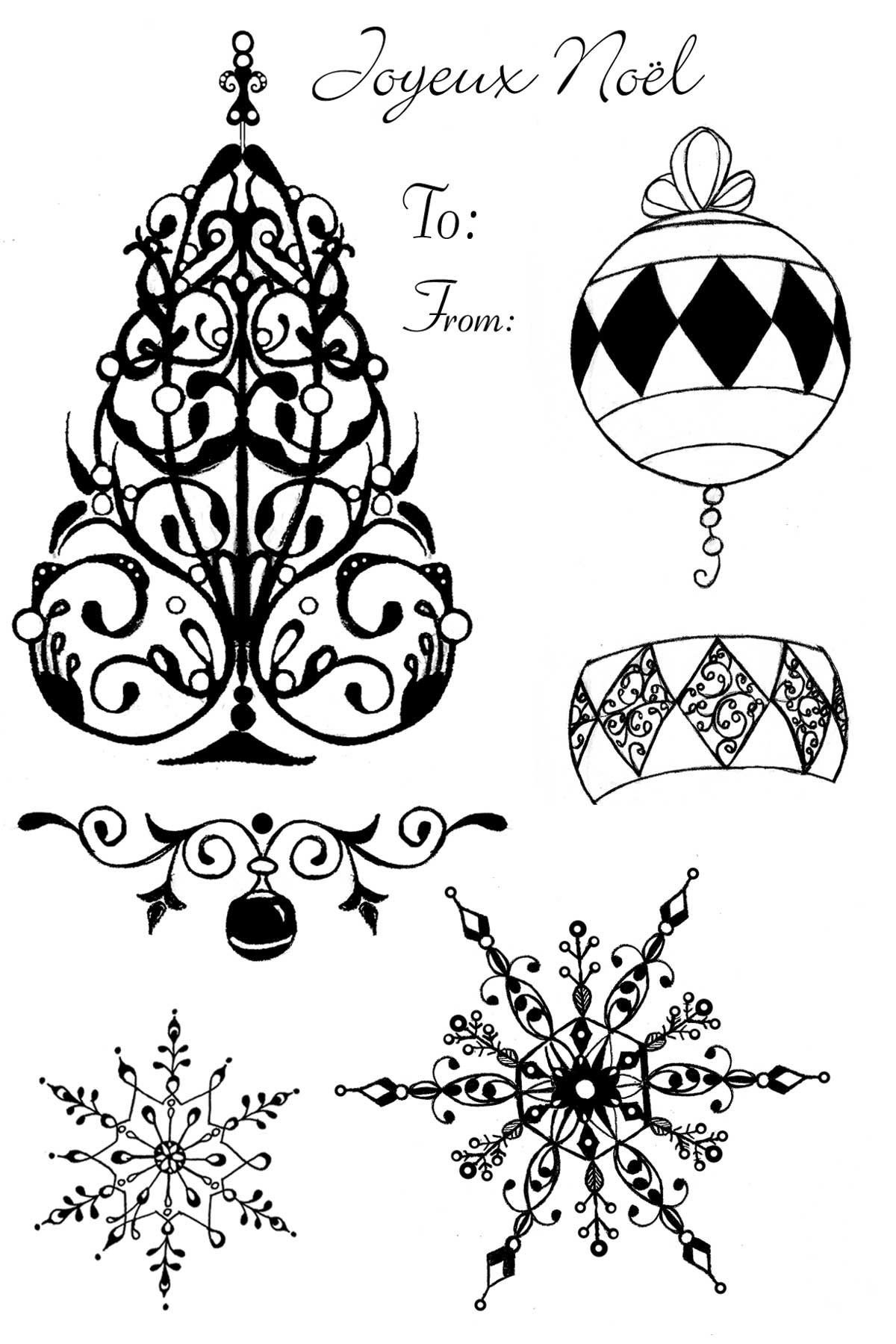 1200x1800 Introducing Victorian Christmas Skipping Stones Design