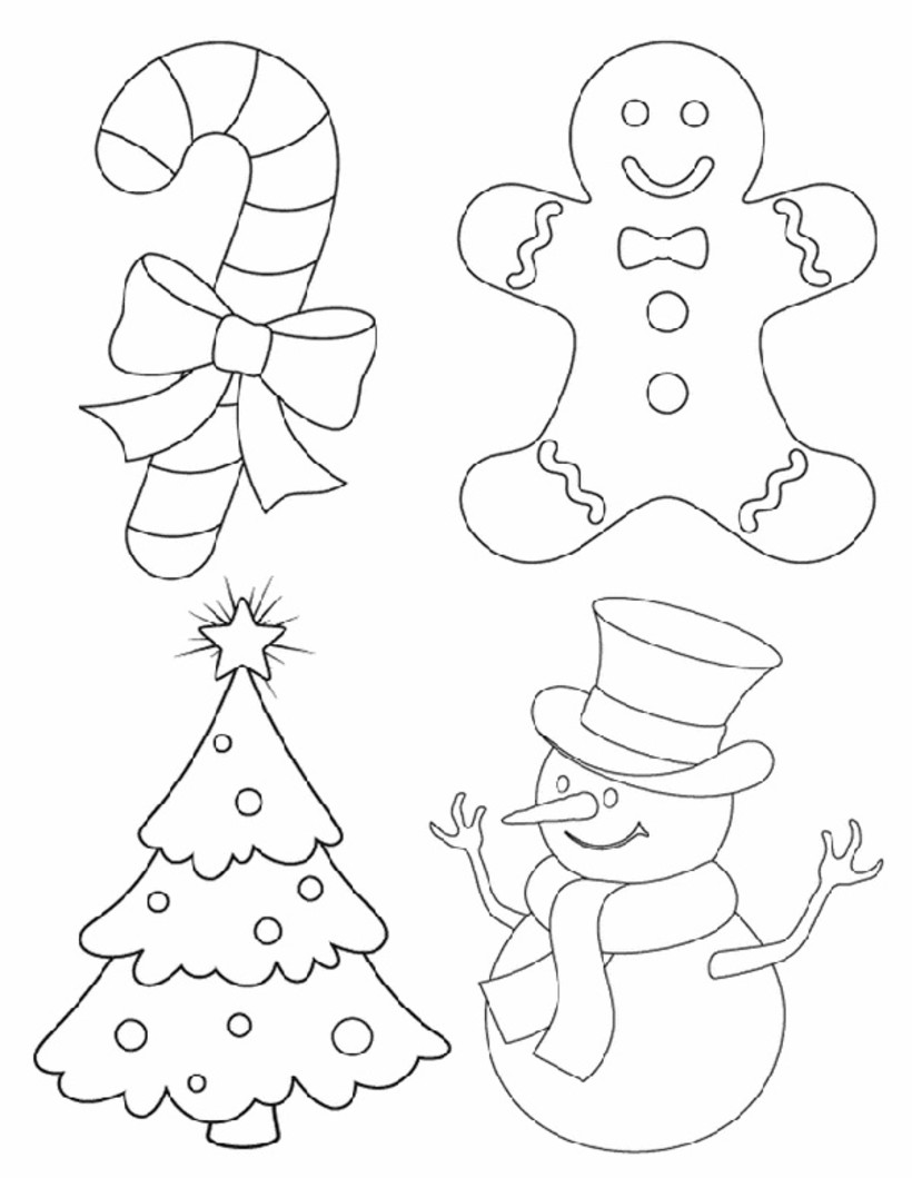 820x1059 53 Christmas Coloring Amp Activity Pages For Endless Holiday