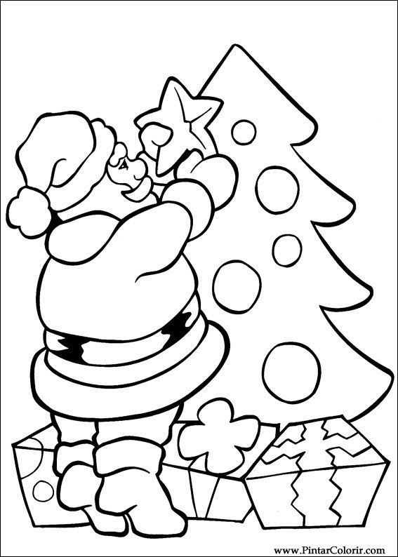 567x794 Drawings To Paint Amp Colour Christmas