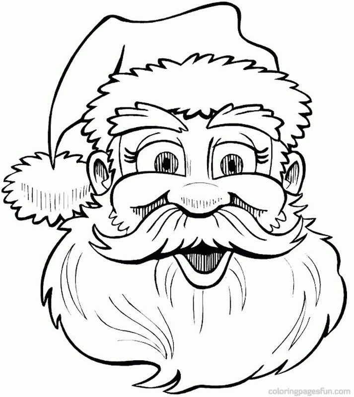 713x800 christmas santa drawings