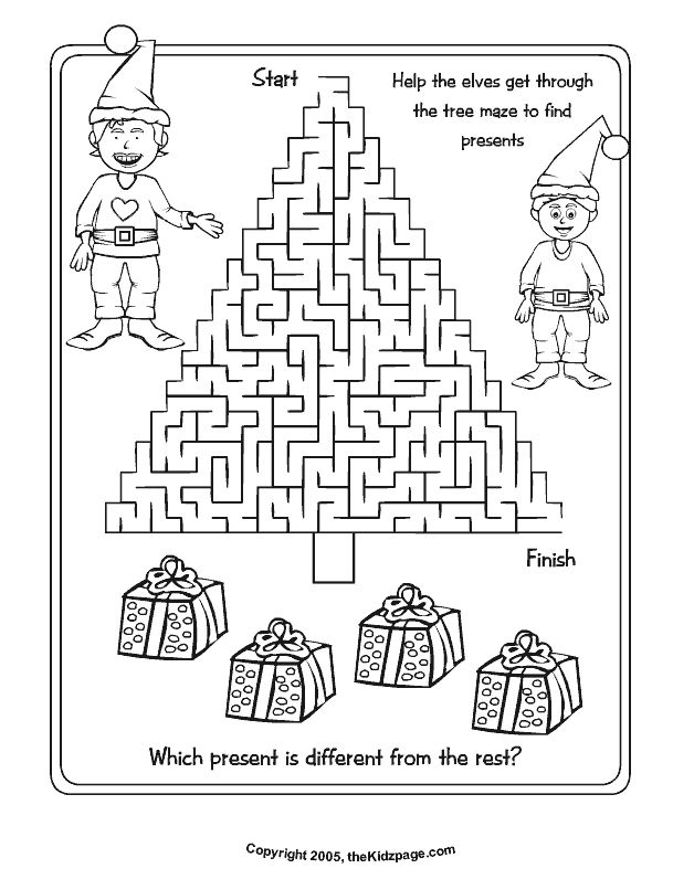 628x796 Free Printable Christmas Activity Sheets Kid Printables Best
