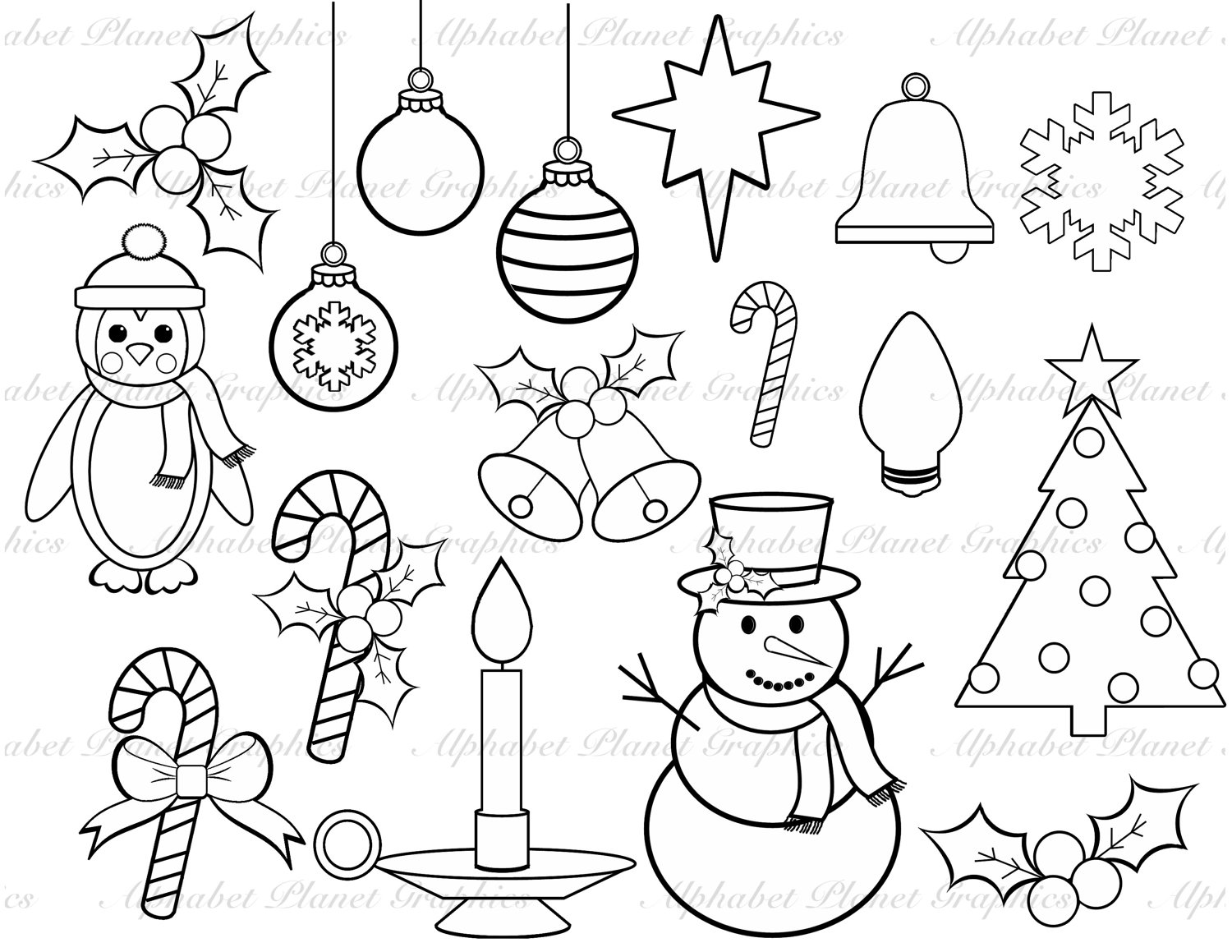 Christmas Images Clipart Black And White.Christmas Drawing Black And White At Getdrawings Com Free