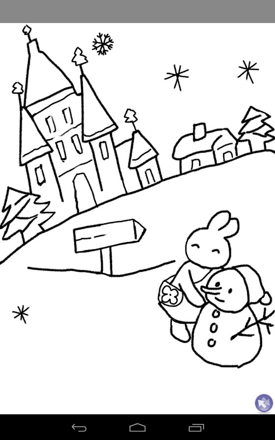562x900 Kids Paint Christmas Cards