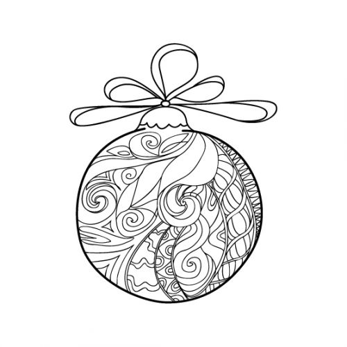 500x500 46 Best Advanced Christmas Coloring Images On Pinterest