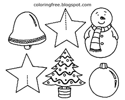 400x320 Easy Draw Christmas Decorations