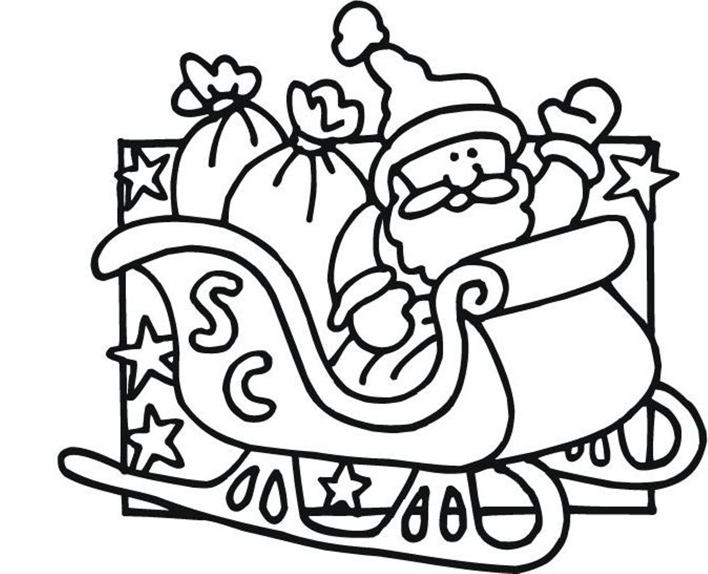 1422x1154 Creative Designs Santa Claus Coloring Pages 85 Christmas