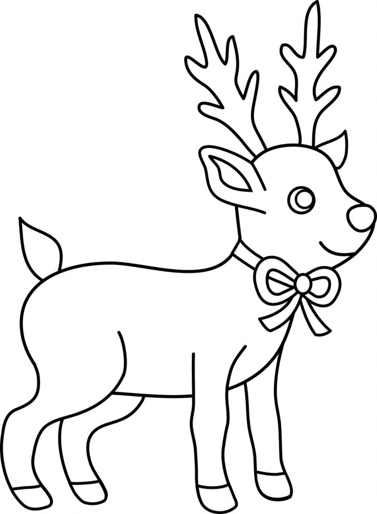 751x1024 Easy Christmas Drawings For Kids Merry Christmas And Happy New