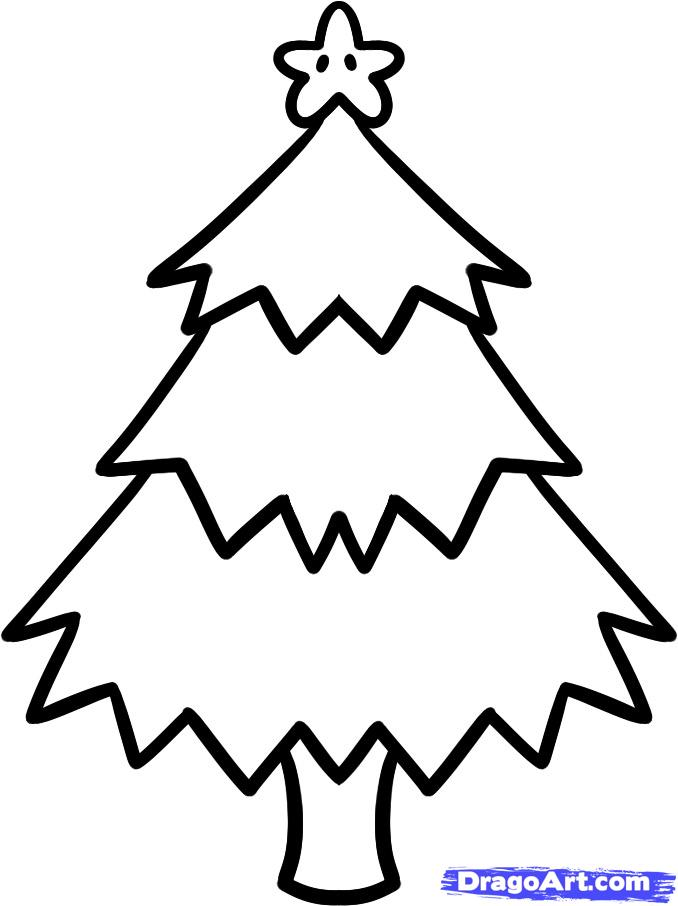 678x906 Easy Christmas Drawings Step By Step Halloween Amp Holidays Wizard