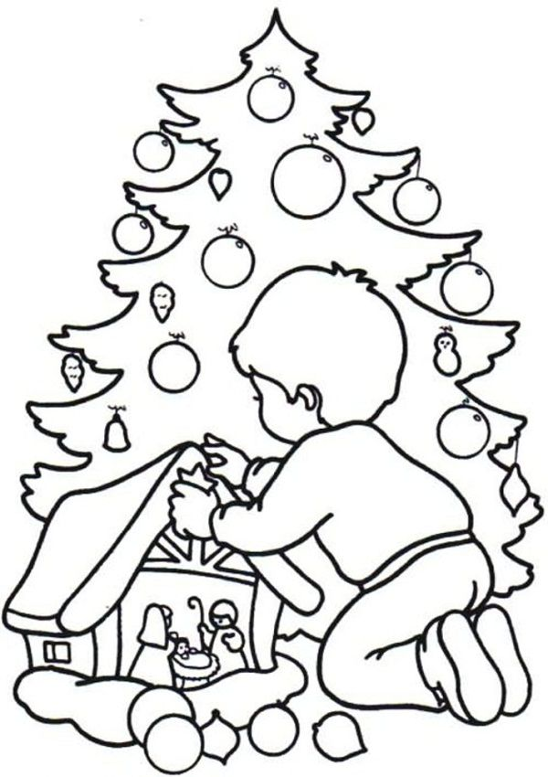 Christmas Drawing For Children