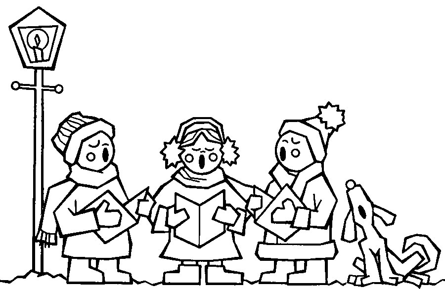 900x585 Christmas Colouring Pages Free To Print And Colour