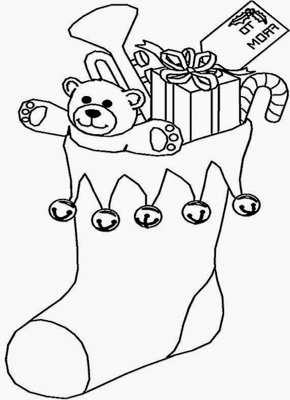 571x787 Christmas Pictures For Kids To Color Free Coloring ZB