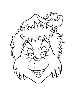 236x305 Grinch Face Coloring Page How To Draw The Grinch Easy Step 7